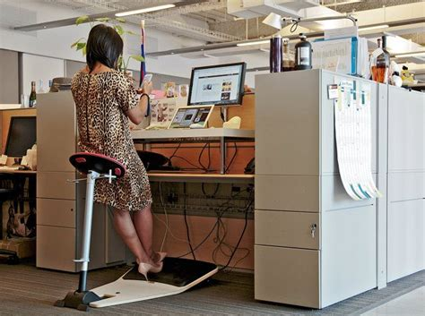 25 best ideas about standing desk chair on standing desk height standing desks and