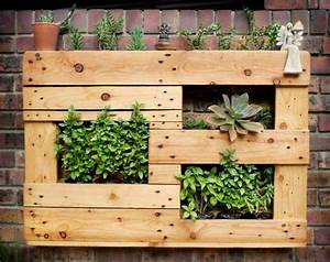 Fabriquer Une Jardinire Verticale En Palette Tutos Et