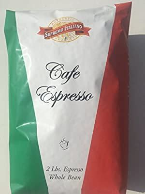 One specifically notable characteristic of this product is that coffee beans are sourced via direct trade. Supremo Italiano Cafe Expresso Whole Bean Coffee Cafe Gourmet Coffee Classic Italian Espresso 2 ...