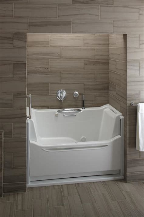 elevance rising wall bathtub  kohler