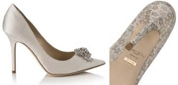 make your own wedding program tuesday shoesday say i do in personalized jimmy choo shoes