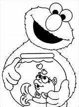 Elmo Coloring Pages Printable Sheets sketch template