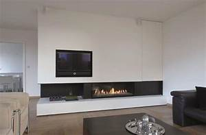 Tv Wand Modern : interieur zwart strak google zoeken kachels pinterest google tvs and wands ~ Indierocktalk.com Haus und Dekorationen