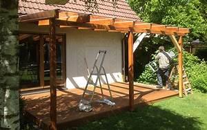 Pergola Selber Bauen : gallery of pergola selbst bauen regenschutz terrasse selber bauen k d berdachung f r eine ~ Sanjose-hotels-ca.com Haus und Dekorationen