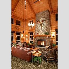 Log Cabin Homes & Kits Interior Photo Gallery