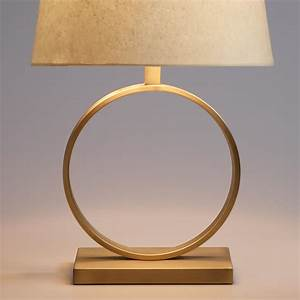 Circular Brass Sloane Table Lamp Base World Market