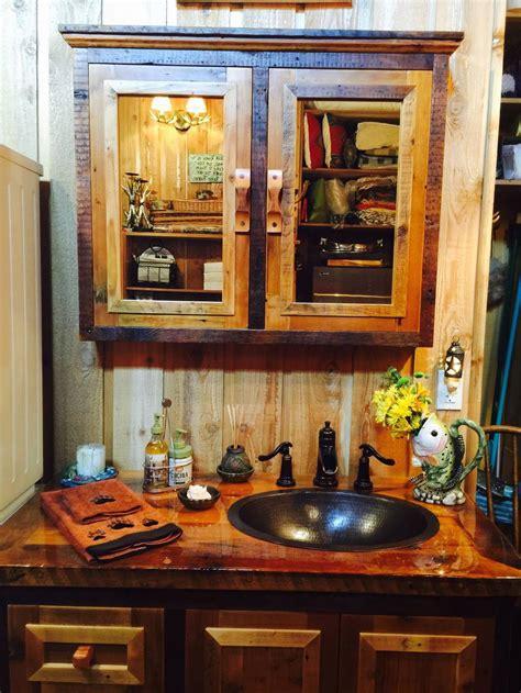 rustic bathroom vanities barn wood furniture rustic