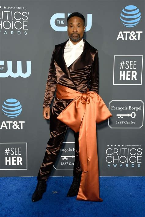 You Have See Pose Star Billy Porters Tuxedo Gown The