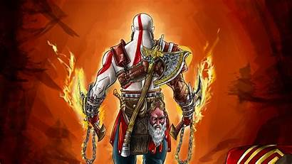 God 4k War Wallpapers Games Kratos Ultra