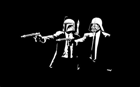 Almost too much awesome. | Pulp fiction, Daft punk, Star wars