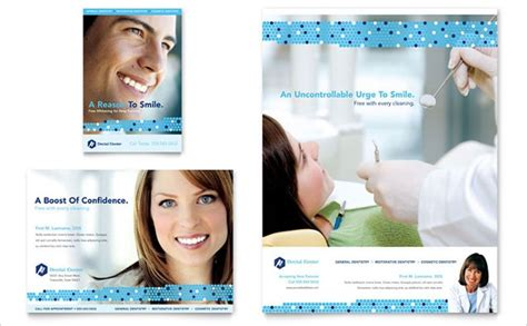 dental flyer templates printable psd ai vector eps