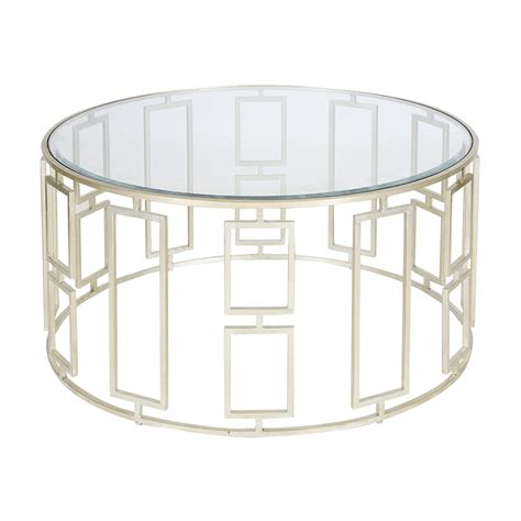 silver glass coffee table worlds away jenny silver leafed coffee table matthew izzo