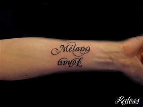 tatouage prenom avant bras interieur deux pr 233 noms sur l avant bras redoss