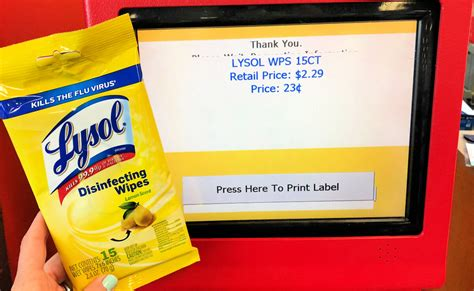 Lysol Disinfecting Wipes Only $0.23 at CVS! (90% Off