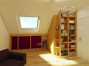 Rangement Pour Chambre : chambre bebe mansarde ~ Premium-room.com Idées de Décoration