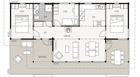 mod 232 les et plans de la maison bois kalliosaari kontio aquitaine midi pyr 233 n 233 es