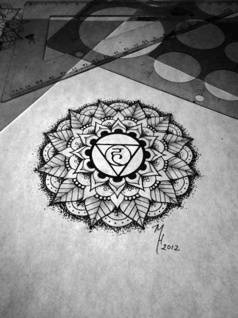 Third eye chakra mandala | Chakra tattoo, Lotus tattoo design, Line drawing tattoos