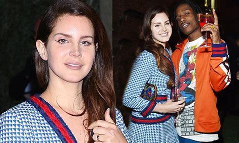 Kendall Jenner Boyfriend A$ap Rocky Cuddles Lana Del Rey