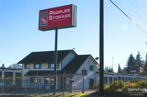 Office Supplies Everett Wa by Self Storage Units At Peoples Storage Everett In Everett