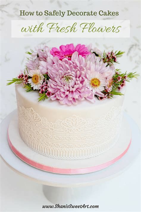 Cake Decorating With Real Flowers - flower identification guide for cake decorators shani s