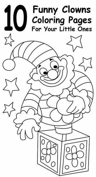 Coloring Pages Ghetto Funny Clown Circus Printable