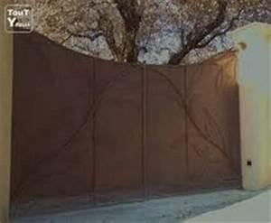 Portail Fer Forgé Plein : portail tole motifs portails pergolas et garde corps ~ Dailycaller-alerts.com Idées de Décoration