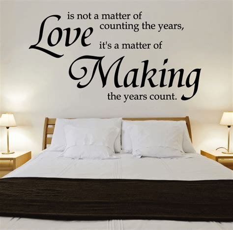 Quotes For Bedroom Wall by 10 Most Wall Decal Quotes For Your Bedroom