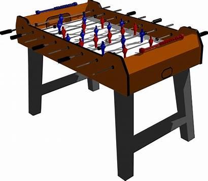 Foosball Table Clipart Football Clip Cartoon Cliparts