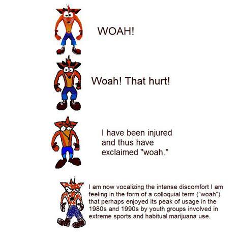 Woah Meme Woah Increasingly Verbose Memes Your Meme