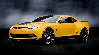 Camaro Transformers Bumblebee Chevy Chevrolet Wallpapers Cars