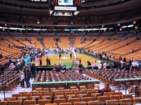 td garden seat view td garden loge 18 boston celtics rateyourseats