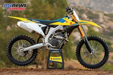 2019 suzuki rm 250 suzuki unveil 2019 rm z250 new engine chassis mcnews