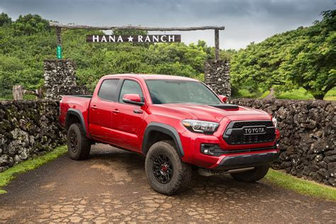 toyota tacoma 2017 toyota tacoma trd pro first drive review automobile