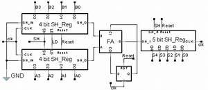 Parallel Adder Circuit Diagram  Parallel  Free Engine