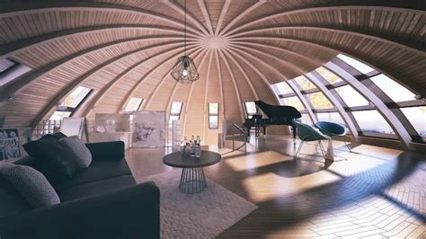 Dome Home Interior Design by Skydome Contemporary Dome Houses From Russia