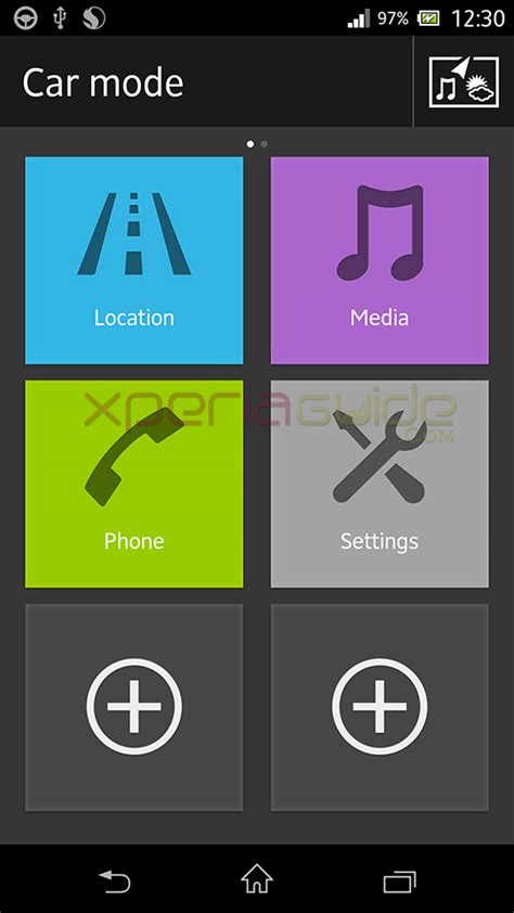 android car mode car mode app in xperia z c6602 android 4 2 2 10 3 1 a 0