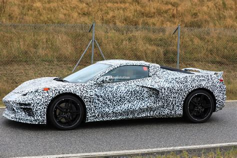 Mid-engined C8 Corvette Hits Nurburgring, Twin