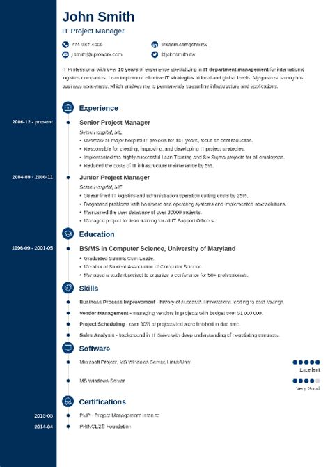 Great Cv Templates by 20 Cv Templates Create A Professional Cv In 5