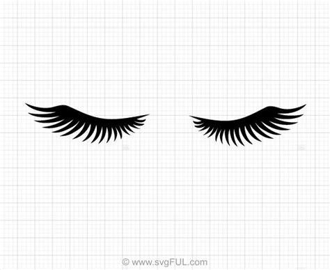 eyelashes svg clipart svgful