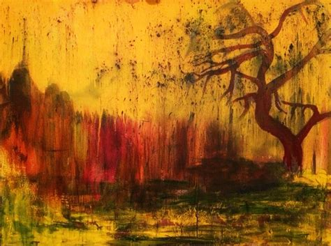 Acrylic Abstract Landscape Paintings