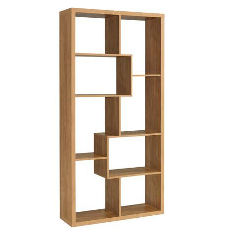 oak cube bookcase montreal multi purpose cube bookcase oak finish