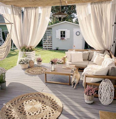ensemble lounge certifie bois brun timor deco terrasse