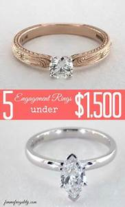 5 engagement rings under 1500 femme frugality With wedding rings under 1500