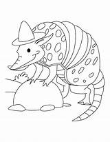 Coloring Spy Pages Armadillo Printable Cartoon Rodeo Aardvark Sloth Sheets Clown Gear Getcolorings Bestcoloringpages Baby Animals Template Animal Wild Adults sketch template