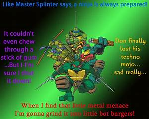 Ninja Turtles M... Tmnt Ninja Quotes