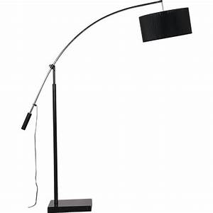 black organza shade floor lamp With tripod floor lamp with black organza shade