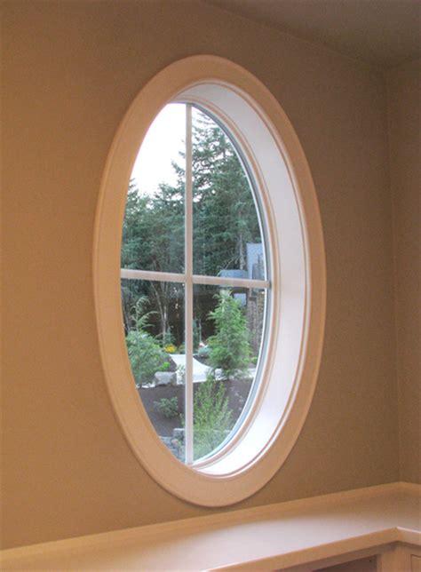 oval window frame window door trim