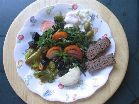 cuisine cretoise recettes salade crétoise avec des légumes de fin d été et de