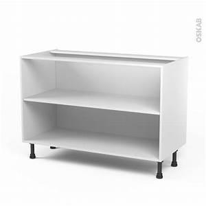 caisson bas n10 meuble de cuisine l120 x h70 x p56 cm With meuble bas cuisine 120 cm 10 cuisine sorbonne