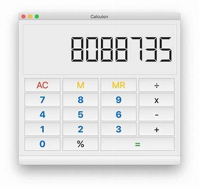 Calculator Desktop Python Examples Gui Calculon Applications